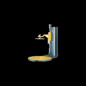 Полуавтоматическая машина для упаковки паллет в стрейч-пленку (паллетообмотчик) с прижимным устройством MH-FG-2000AС