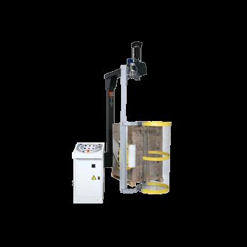 Автоматическая машина для упаковки паллет в стрейч-пленку (паллетообмотчик) с вращающейся «рукой» RA-А