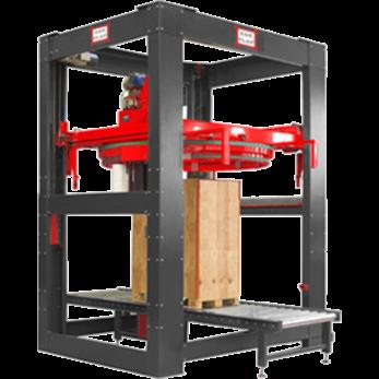 Автоматическая машина для упаковки паллет в пленку стрейч модель Vasco ARM4500