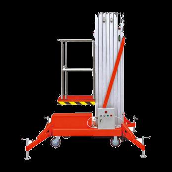 Персональный подъемник телескопический GTW серии Single Mast