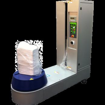 Полуавтоматический упаковщик багажа в стрейч-пленку Bagwrap