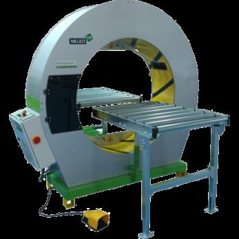 Полуавтоматическая машина для  орбитальной обмотки в стрейч-пленку Neleo 125