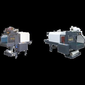 Автоматические моноблочные машины для упаковки в рукав конвейерного типа CAM500N / CAM700N / CAM900N / CAM1250N