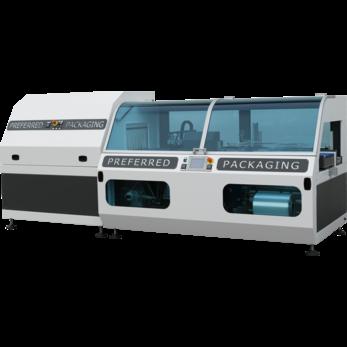Автоматическая машина непрерывного движения с боковой запайкой модель Preferred Packaging DEA
