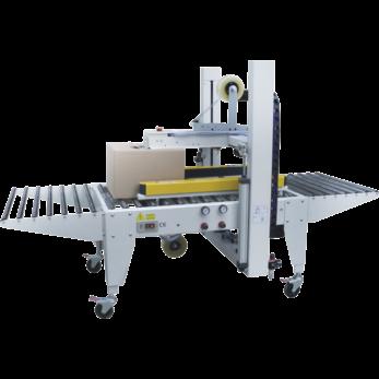 Автоматический заклейщик коробов с боковыми приводными ремнями GPE-50