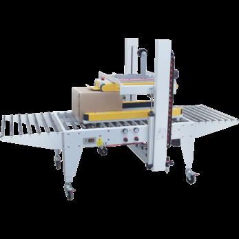Автоматический заклейщик коробов с верхним и боковыми приводными ремнями GPE-50P