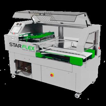 Термоусадочный автоматический обрезчик STARFLEX с угловой подачей