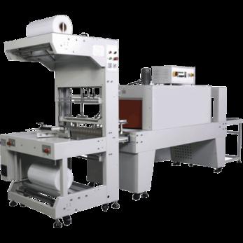 Машина для термоупаковки в ПЭ термоусадочную пленку TERMOLINE TLT 6030 и термотоннель TLM 6040S/SM