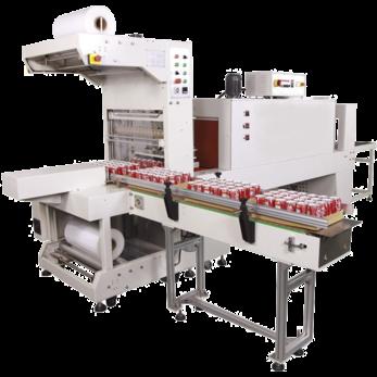 Автоматическая термоупаковочная машина для упаковки в рукав из термоусадочной пленки TERMOLINE TLT 6030A + TLM 6040