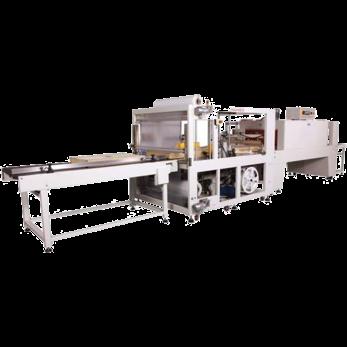 Автоматическая машина для герметичной упаковки, модель TERMOLINE TLT6030АF и термоусадочный тоннель TERMOLINE TLM 8040