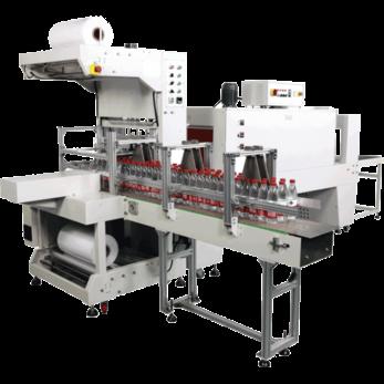 Автоматическая машина для упаковки в рукавную пленку модель TERMOLINE TLT 6030AH и термоусадочный тоннель TERMOLINE TLM 6040M