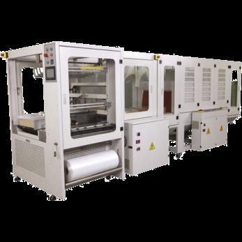 Автоматический термоупаковочный аппарат для рукавной пленки с фронтальной загрузкой TERMOLINE TLT 6030X + TLM 6040