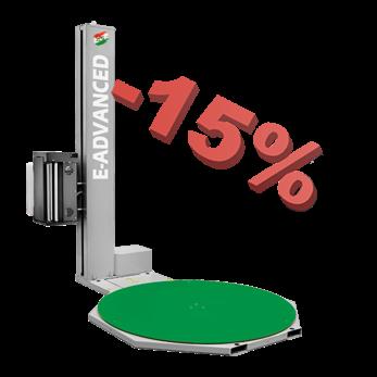 Успейте купить паллетоупаковщик E-Advanced со скидкой 15%