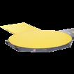Подъездная рампа паллетоупаковщик paclet (paklet) siat для упаковки паллет в стрейч пленку