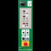 Полуавтоматическая машина для упаковки паллет в стрейч-пленку (паллетообмотчик) Beta TP