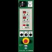 Полуавтоматическая машина для упаковки паллет в стрейч-пленку (паллетообмотчик) Ronda 2500