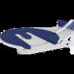 Полуавтоматическая машина для упаковки паллет в стрейч-пленку (паллетообмотчик) модель Rotoplat 307 FR/ТР 307 FR