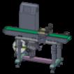 Схема автоматической этикетировочной машины YM210X