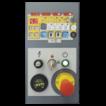 Пульт управления автоматической роботизированной машины для упаковки паллет в стрейч-пленку (паллетообмотчик) WR100