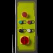 Панель управления полуавтоматического  паллетоупаковщика EXP-408