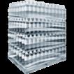 Образец групповой упаковки  ПЭТ бутылок в стрейч пленку