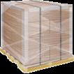 Образец упаковки картонных коробок паллетообмотчиком