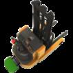 Самоходный электрический штабелер-погрузчик SWR Soosung