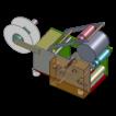 Схема аппликатора этикеток YM130