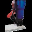 Упаковка пневматическим степлером для верха коробки SP-2432