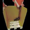 Пневматический степлер для крепления коробки к паллете