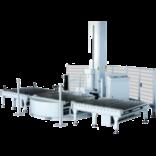 Автоматическая машина для упаковки паллет в стрейч-пленку (паллетообмотчик) с конвейером MH-FG-2000D