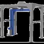 Полуавтоматическая машина для упаковки паллет в стрейч-пленку (паллетообмотчик) с вращающейся «рукой» MH-FG-2300A (каретка с механическим тормозом/ моторизированная каретка)