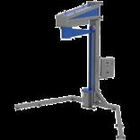 Полуавтоматическая машина для упаковки паллет в стрейч-пленку (паллетообмотчик) с вращающейся «рукой» MH-FG-2300В (каретка с механическим тормозом/ моторизированная каретка)
