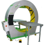 Полуавтоматическая машина для  орбитальной обмотки в стрейч-пленку Plasticband Neleo 160
