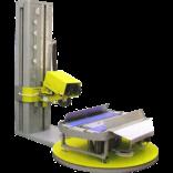 Термоусадочный паллетоупаковщик для упаковки поддонов в ПЭ пленку-колпак HU-6000