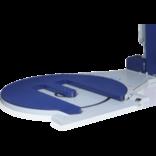 Паллетообмотчики: опция Е-образный стол