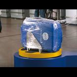 Зачем обматывать багаж стрейч-пленкой?