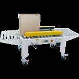 Полуавтоматический заклейщик коробов с боковыми приводными ремнями GPA-50W