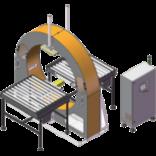 Как подобрать орбитальный обмотчик по габаритам груза?