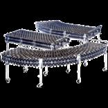 Растяжимый роликовый конвейер GTL