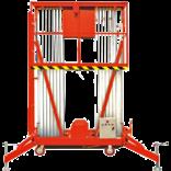 Телескопический одномачтовый подъемник GTWY серии Double Mast