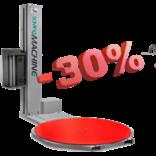 Полуавтоматический обмотчик паллет Saving Machine E-MPS c 30% скидкой!