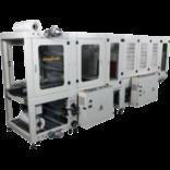 Автоматическая машина для упаковки в рукавную пленку с фронтальной загрузкой, модель TERMOLINE TLT 6030Z и термоусадочный тоннель TERMOLINE  TLM 6040
