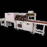 Автоматическая машина для упаковки в пленку с боковой запайкой шва, модель TERMOLINE TL-5545TBC/M и термоусадочный тоннель TERMOLINE TLM 5030